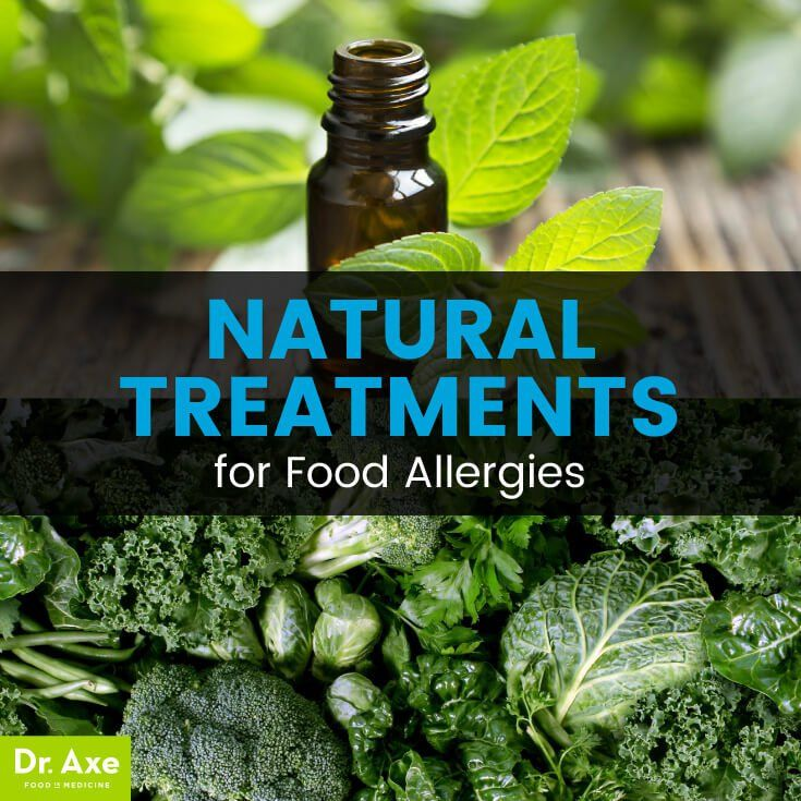 Food allergies treatments - Dr. Axe http://www.draxe.com #health #holistic #natural