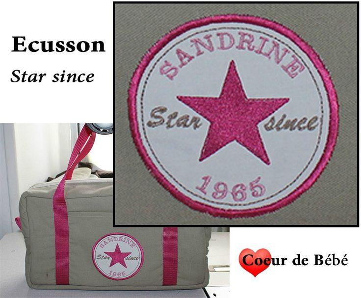 ecusson star since