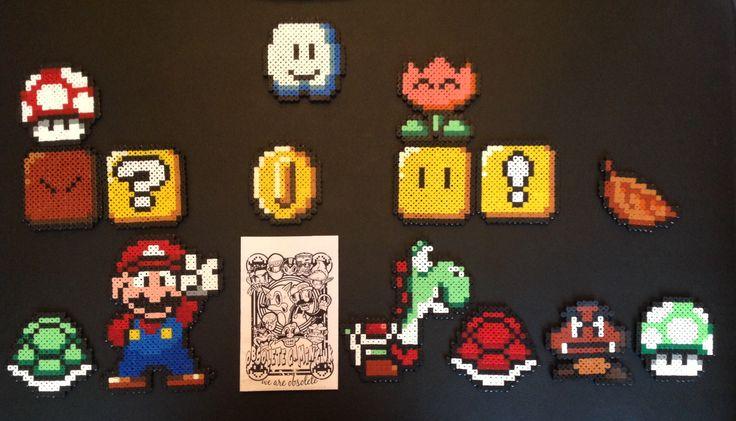 Super Mario Pixel Art by Obsolete Gaming