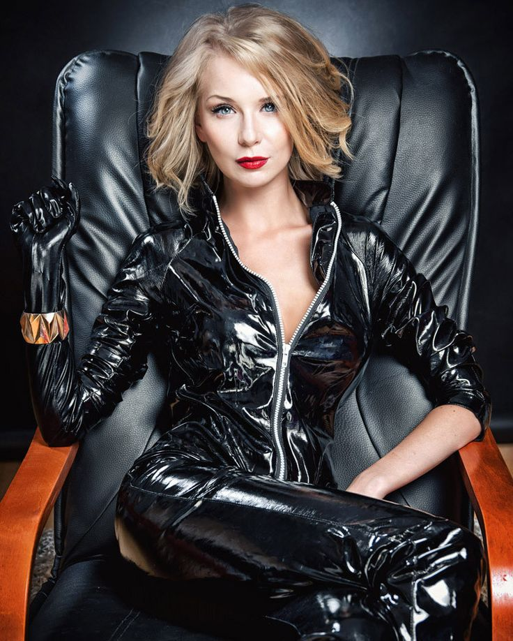 Wicked black PVC catsuit | latex and vinyl catsuits ...