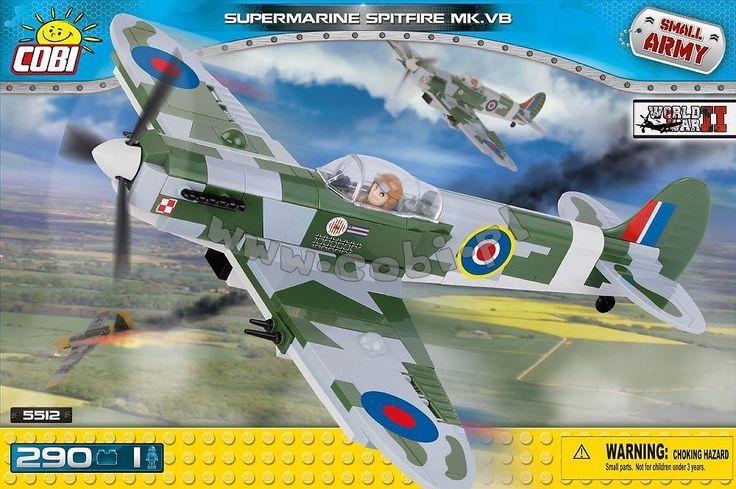 Supermarine Spitfire Mk VB - myśliwiec brytyjski