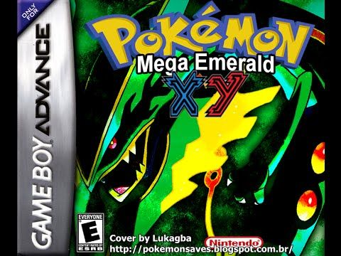 Pokemon Emerald XY GBA ROM hack: Episode 6 Part 1 Grass Maze and Mud Mountain