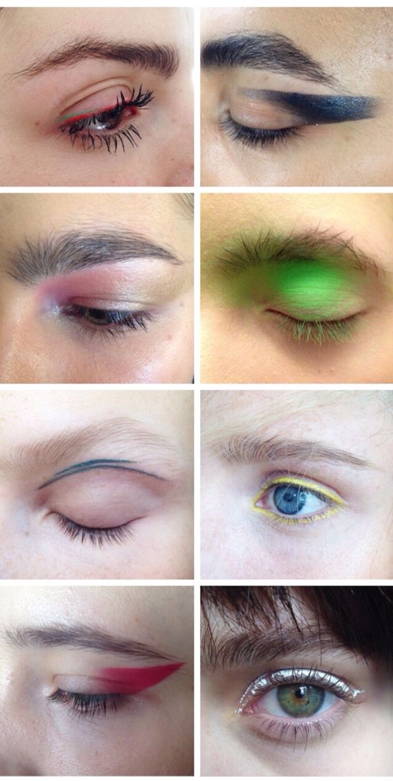 eyes done by fka twigs' makeup artist!!