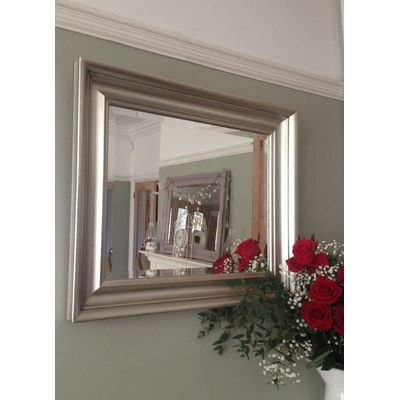 Elegance Silver  Gilt Framed Wall Mirror from Ayers and Graces