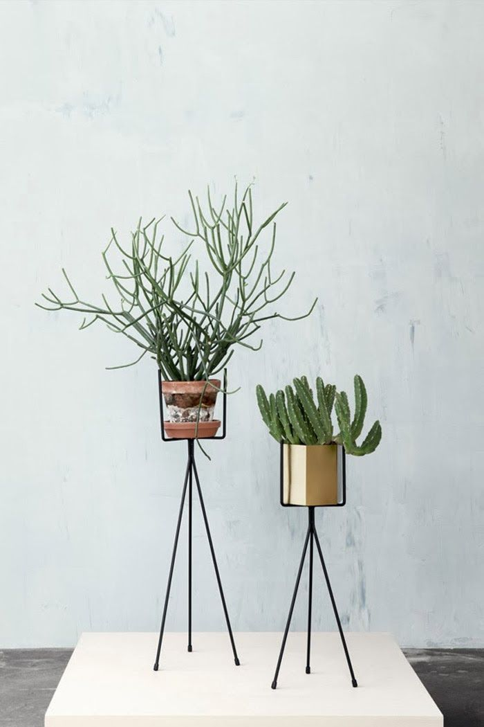 ferm LIVING's new plant stands from their SS2014 collection