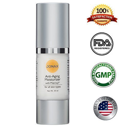 Product review for Best Anti aging Anti wrinkle skin lotion - skin facial moisturizer wrinkle cream 100% organic with Vitamin C Matrixyl helps to improve the appearance of Wrinkles Fine lines .30ml Airless Pump .  - Anti-aging Anti-wrinkle Moisturizer with Matrixyl is non-irritating skin rejuvenation cream containing a patented pentapeptide that may help significantly improve the appearance of facial wrinkles, stretch marks and monitor skin imperfections. This advanced form