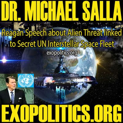 Analysis of Q and A with Michael Salla And Corey Goode August 4th | REAGAN SPEECH ABOUT ALIEN THREAT LINKED TO SECRET UN INTERSTELLAR SPACE FLEET | Stillness in the Storm