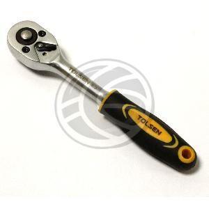 """Llave de carraca de 1/4"""" de herramientas Tolsen  www.cablematic.es/producto/Llave-de-carraca-de-1_slash_4_ampersand_quot%3B-de-herramientas-Tolsen/"""