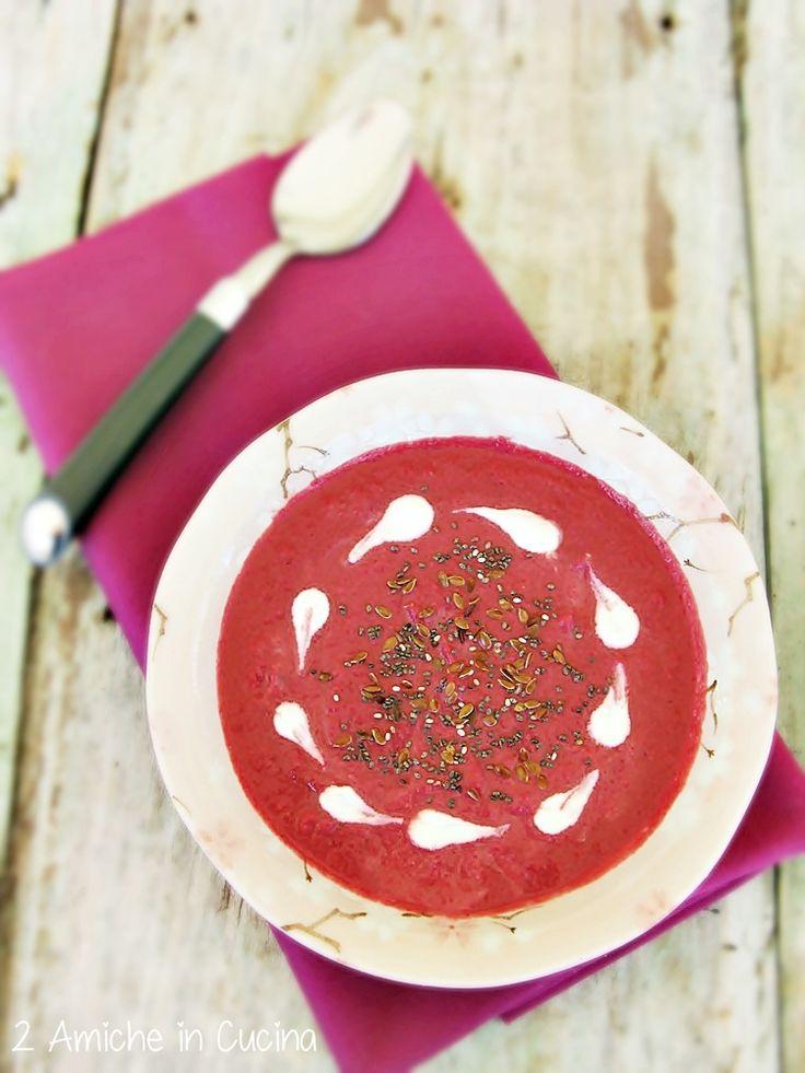 crema di rape rosse e daikon