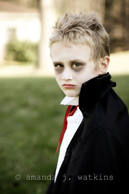 diy boy vampire makeup - Google Search