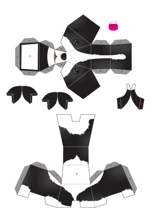 Blog_Paper_Toy_papertoys_puppies_template_5_preview