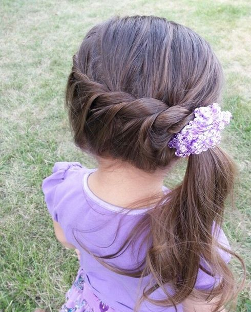 Simple Quick Little Girl Hairstyle | Full Dose http://www.salescoach.com