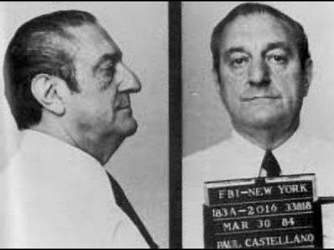 "Mobsters Costantino Paul ""Big Paul"" Castellano"