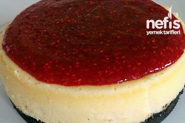 Oreolu Frambuazlı Nefis Cheesecake