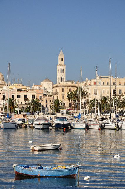 This is where Pat and I will be staying for alot of our time in Italy :) Bari, Italy.