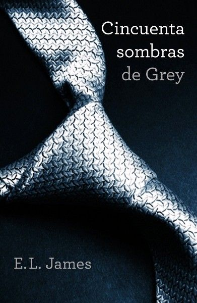 Cincuentas sombras de Grey de E. L. James. Libro erótico, romance.