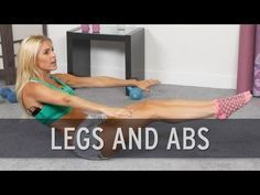 Legs and Abs Circuit Workout - YouTube