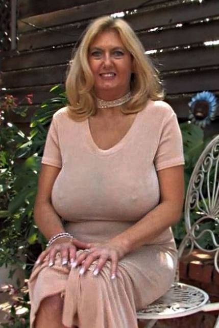 Nice Blonde Tits Mature 62