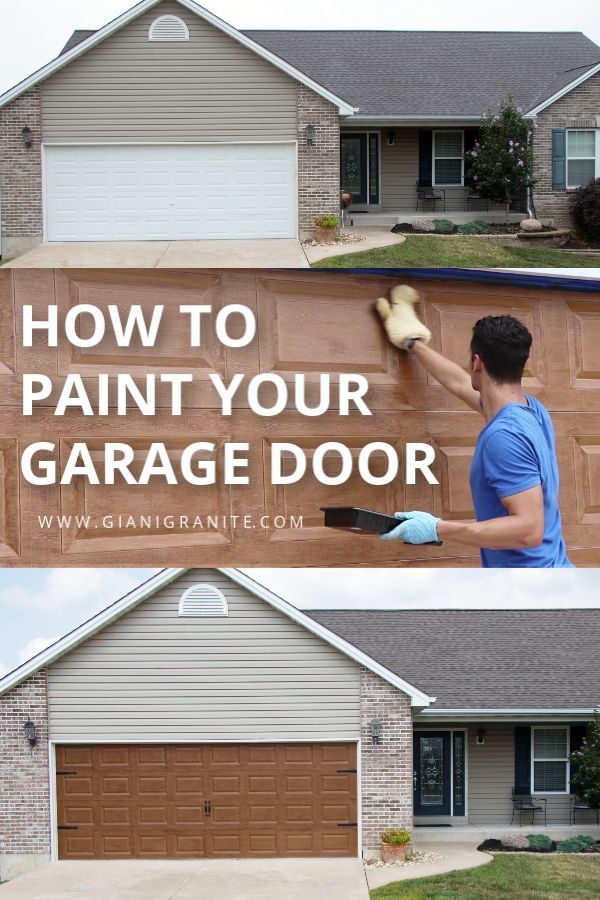 Giani English Oak Wood Look Kit For Garage Doors Garage Doors Diy Garage Door Oak Wood