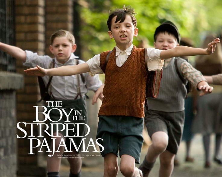 The Boy In The Striped Pyjamas. Ik vond het een hele zielige film omdat de jongetjes uiteindelijk vergast worden. Het geeft wel een beeld van hoe het er in de oorlog aan toe ging.