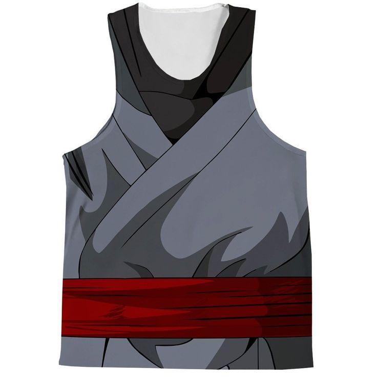 Black Goku Outfit Tank Top