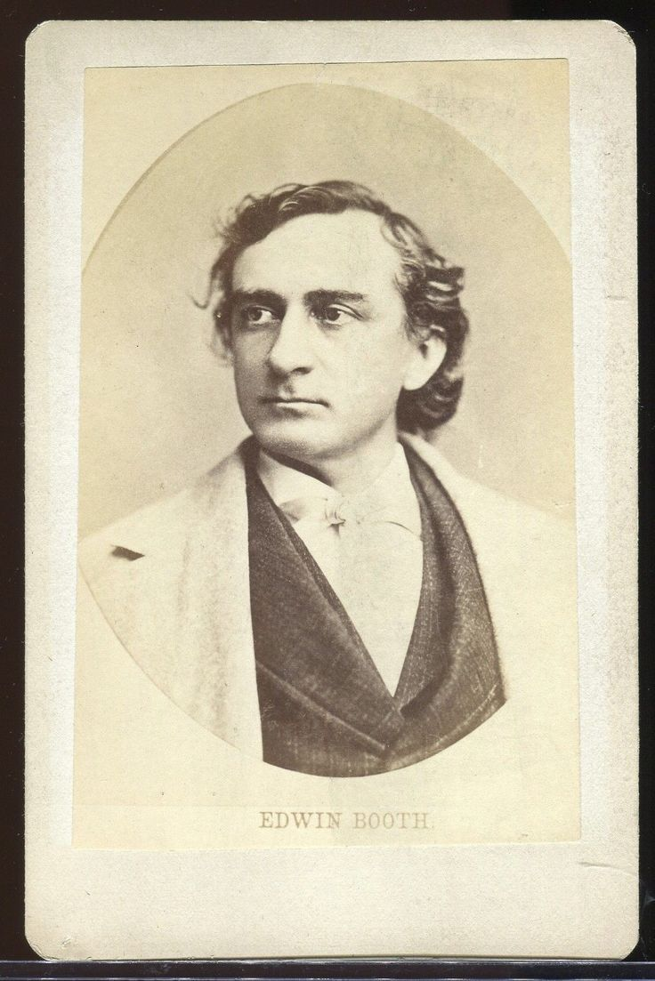 edwin booth essay My conclusion will reiterate what i have found and discussed in the essay and bring it to a close 'the great american actor edwin booth.