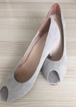 Peeptoe/Pumps Pier One grau