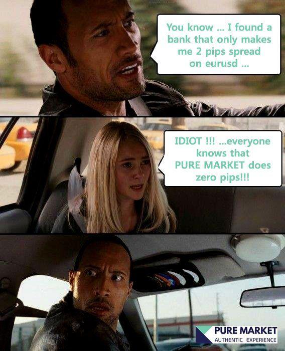 PureMarket - A real STP Broker.