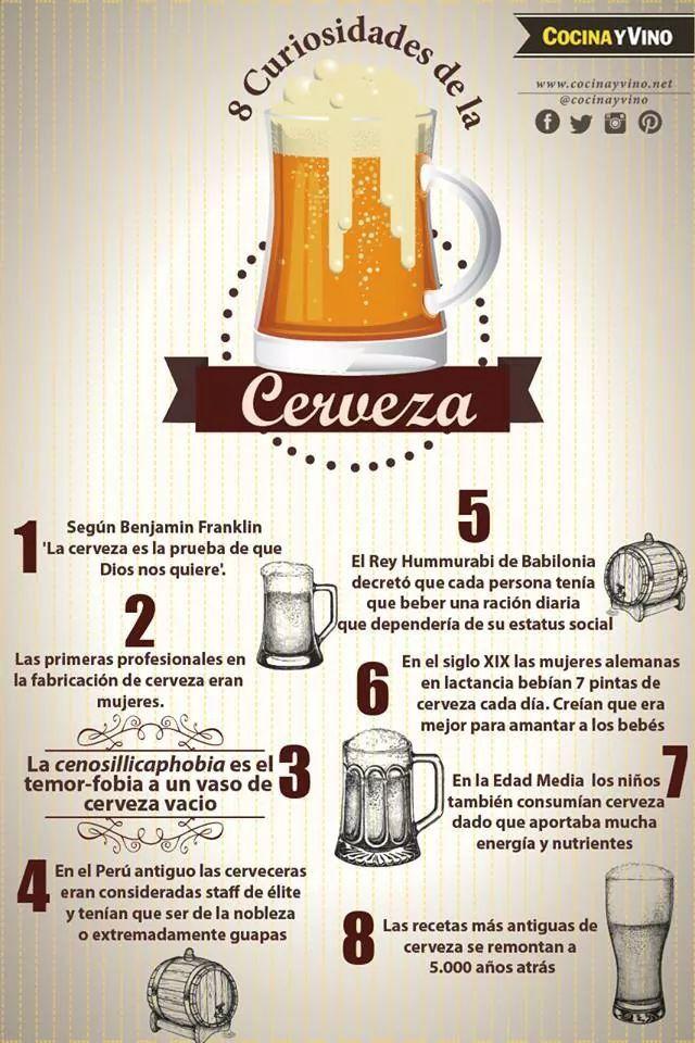 Cerveza...