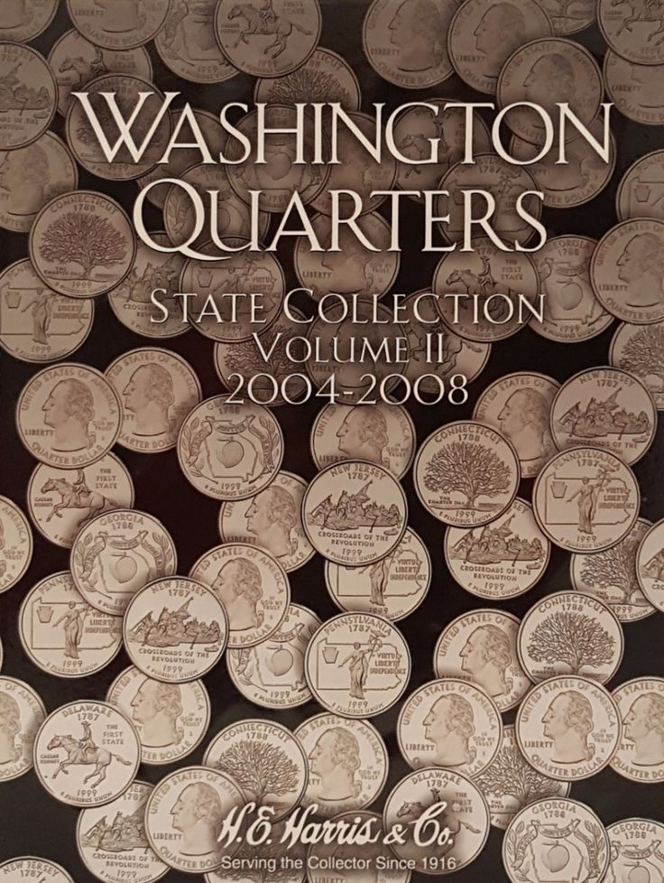 Washington Quarters State Collection 2004-2008 Vol II Coin Collecting Album
