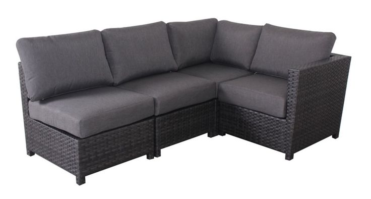 4 PC Grand Prince Woven Sectional