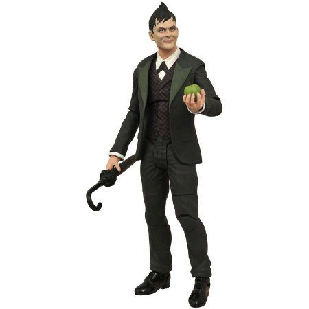 Diamond Select Toys Gotham TV Series Select Oswald Cobblepot Action Figure, Assorted