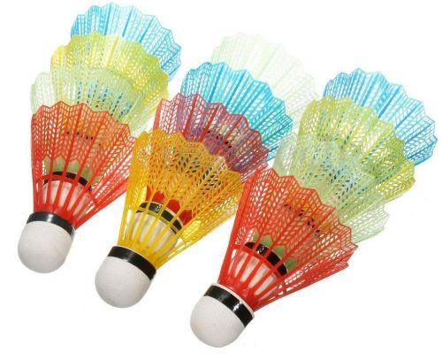 12pcs. Portable Colorful Badminton Balls Shuttlecocks