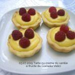 03.07.2015 Tarte cu crema de vanilie si fructe Cornelia Velici 2