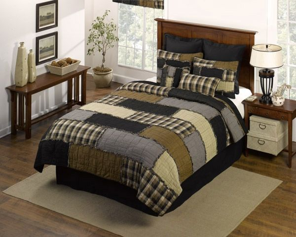 Cobblestone Quilt by Donna Sharp Quilts | Donna Sharp Quilts & Accessories | PaulsHomeFashions.com $612- 8 piece set