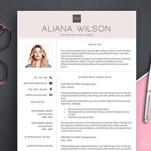 Best 25 Creative Resume Templates Ideas On Pinterest Cv