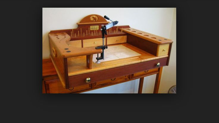 1000 images about fly tying desk on photo