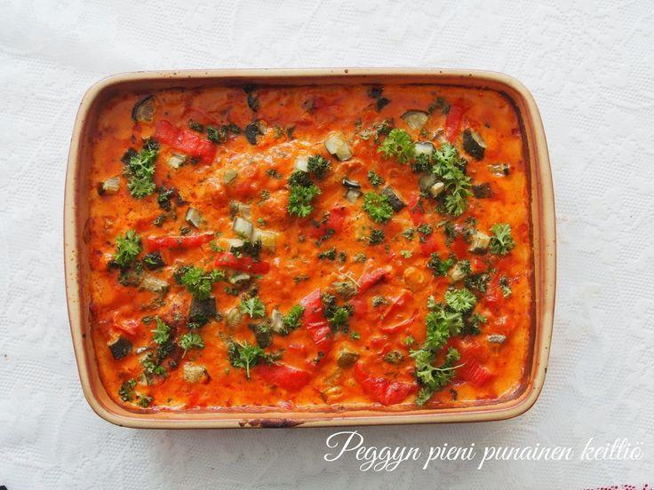 Peggyn pieni punainen keittiö: Kanaa Igorin tapaan