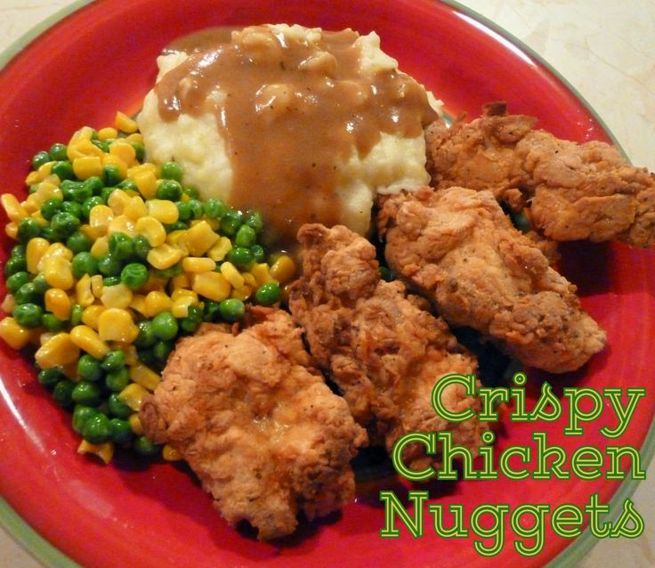 Crispy Chicken Nuggets | Jill's Kitchen Recipes | Pinterest