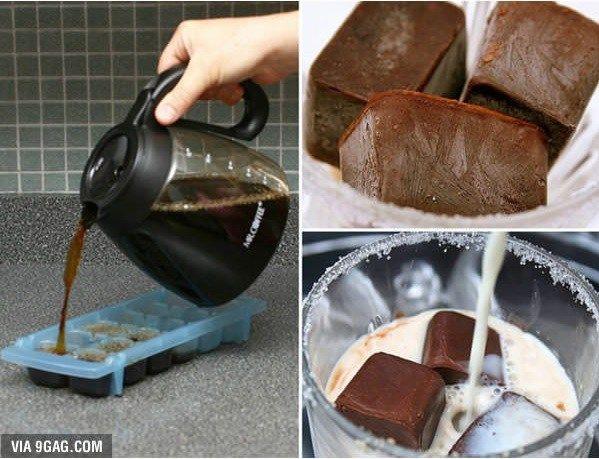 Ledová káva pro horké letní dny