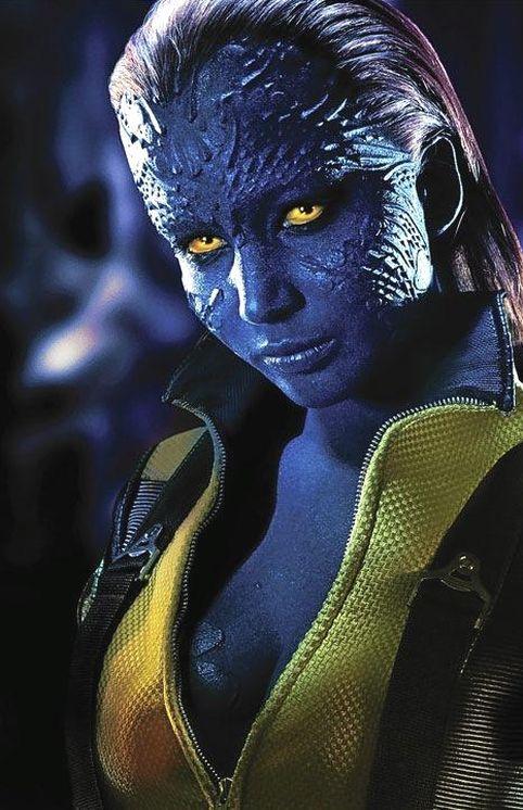 Jennifer Lawrence as Mystique.
