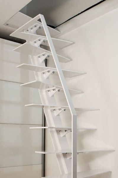 Unique design white steel sheet railing