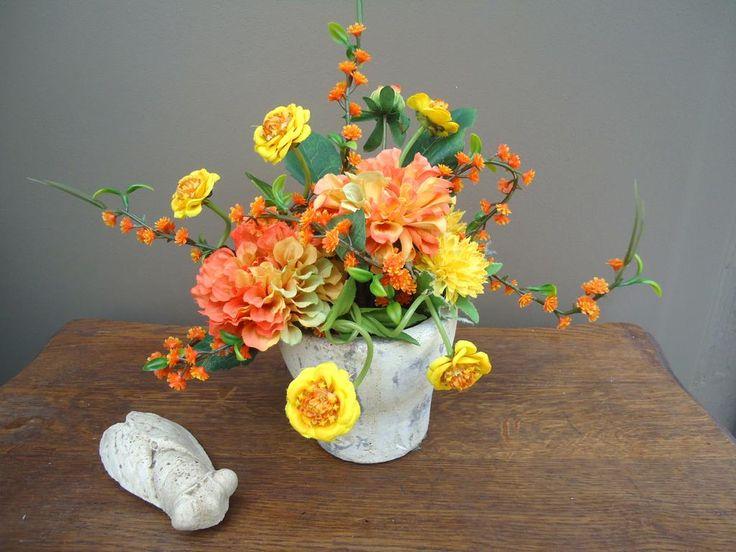 Les 1187 meilleures images du tableau compositions for Soldes fleurs artificielles