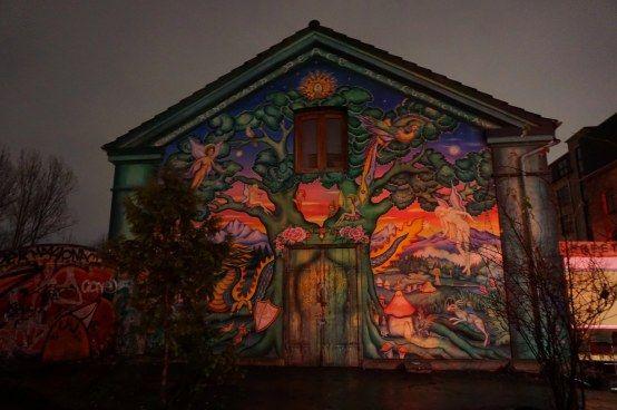 Copenhagen - graffiti in Christiania