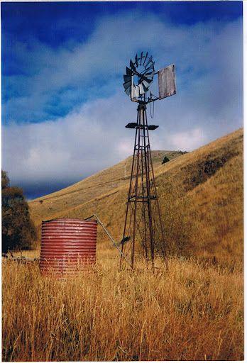 Windmill & tank