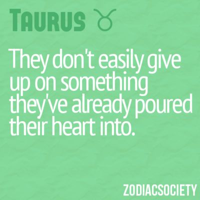 They don't easily give up on something they've already poured their heart into.