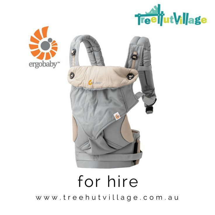 Ergobaby 360 hire or rent from other parents at Tree Hut Village   Click here to see baby equipment rental ideas for Ergo baby carriers and other baby gear available now. Great idea for family travel.