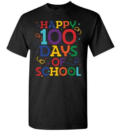 Happy 100 Days of School Shirt 100th Day of School Shirts OTD Gildan Short-Sleeve T-Shirt