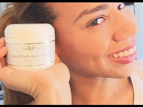 Valentia Skin Detoxifying Clay Mask Review & Demo | Daisi Jo Reviews