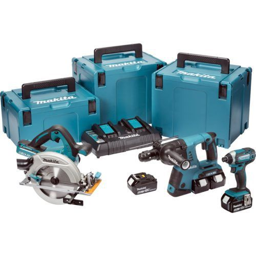 MAKITA DLX3049PTJ 18V LXT 3 PIECE KIT, 500x500, power tools, power tools uk, power tool store, cheapest place for power tools